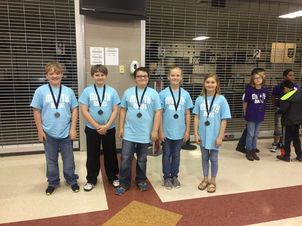 5th grade 2nd place Math Fest